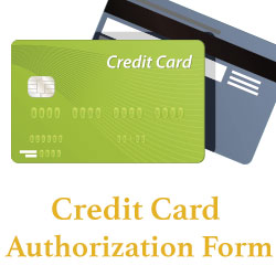 card auth form